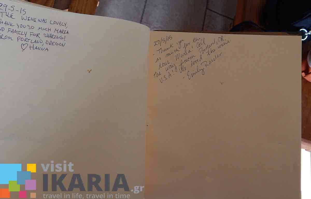 Afianes Winery  Visit Ikaria