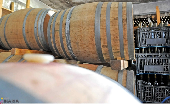 wooden_barrels_for_wine_Ikaria